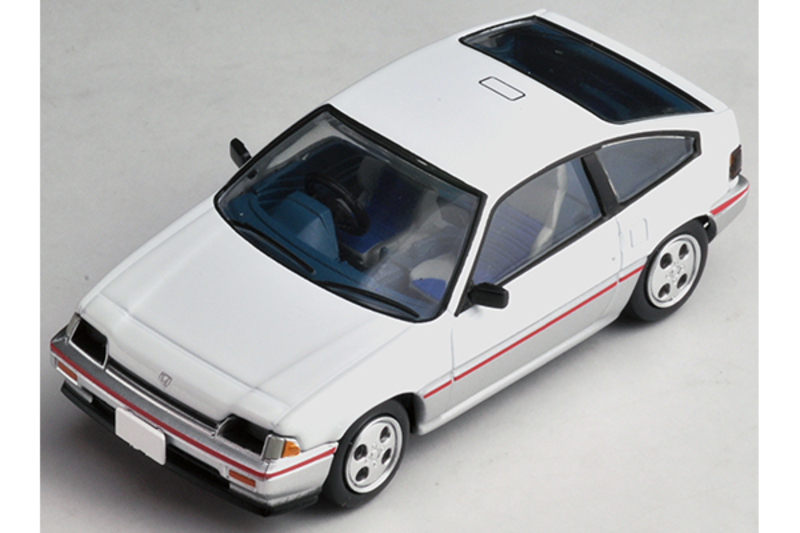 1/64 Tomica Limited Vintage NEO LV-N124d Honda Ballade Sports CR-X 1.5i (White/Silver)