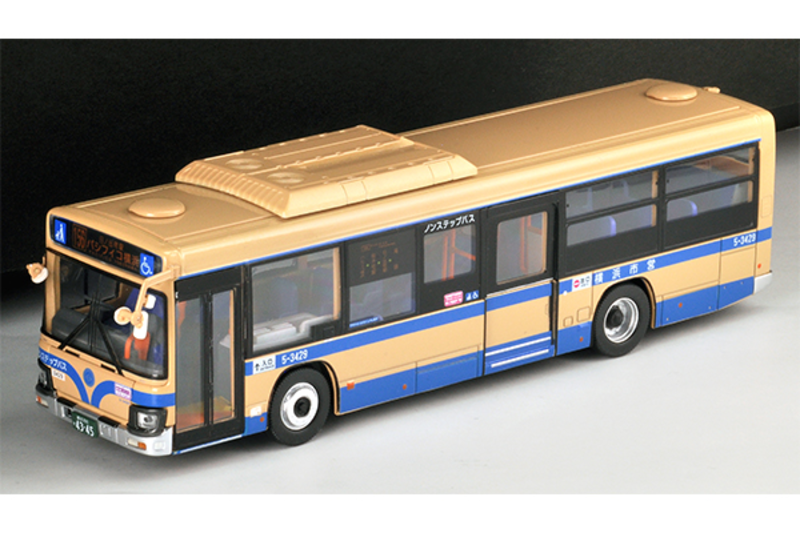 1/64 Tomica Limited Vintage NEO LV-N155a Hino Blue Ribbon Yokohama City Transportation Bureau