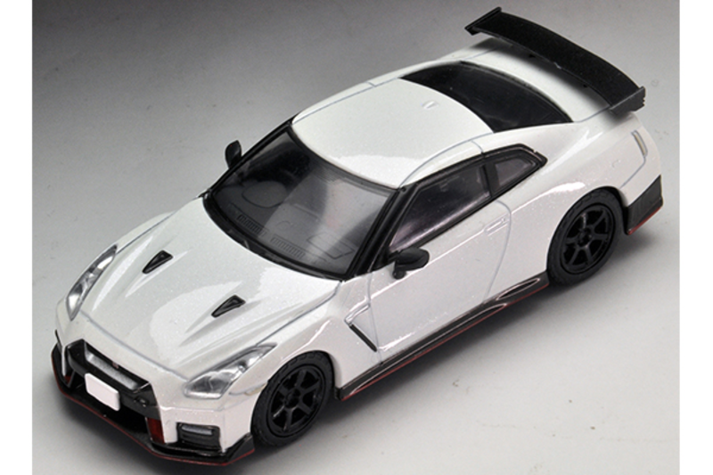 1/64 Tomica Limited Vintage NEO LV-N153a Nissan GT-R nismo 2017 Model (White)
