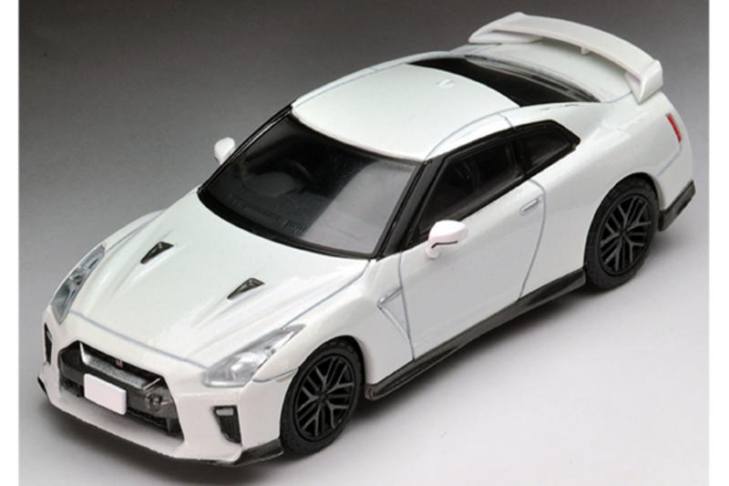 1/64 Tomica Limited Vintage NEO LV-N148c Nissan GT-R 2017 Model (White)