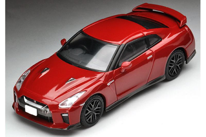 1/64 Tomica Limited Vintage NEO LV-N148d Nissan GT-R 2017 Model (Red)