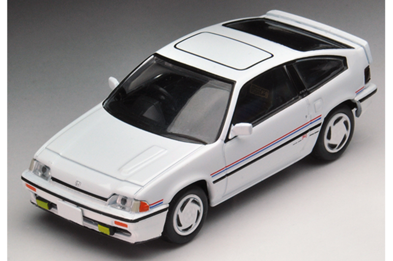 1/64 Tomica Limited Vintage NEO LV-N35d Ballade CR-X F-1 Edition (White)