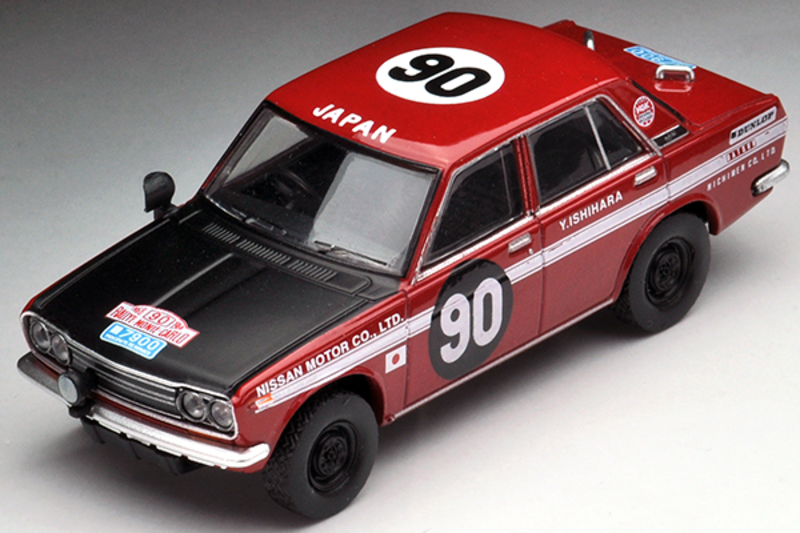 1/64 Tomica Limited Vintage TLV - EIKOU 5000 Km Datsun Bluebird