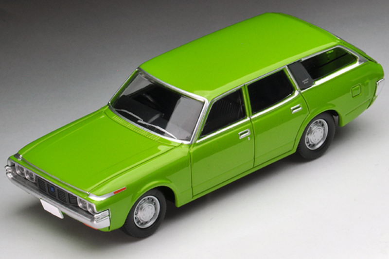1/64 Tomica Limited Vintage NEO LV-N163a Crown Van 1973 Model (Green)