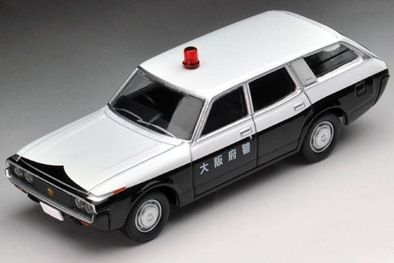 1/64 Tomica Limited Vintage NEO LV-N164a Crown Van Police Car Osaka Prefectural Police