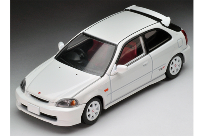 1/64 Tomica Limited Vintage NEO - LV-N158a Civic Type-R 1997 (White)