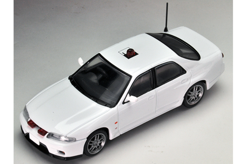 1/64 Tomica Limited Vintage NEO LV-N169a Skyline GT-R Autech Version Unmarked Patrol Car (White)