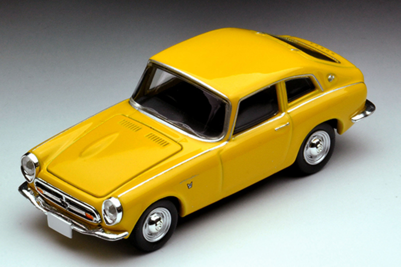 1/64 Tomica Limited Vintage LV-126e Honda S800 Coupe (Yellow)