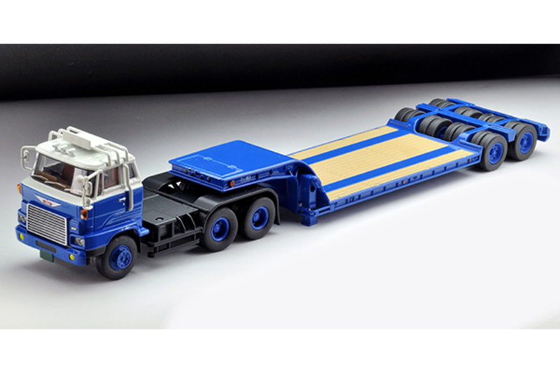 1/64 Tomica Limited Vintage NEO LV-N173a Hino HH341 Heavy Equipment Transport Trailer (Tokyu TD302)