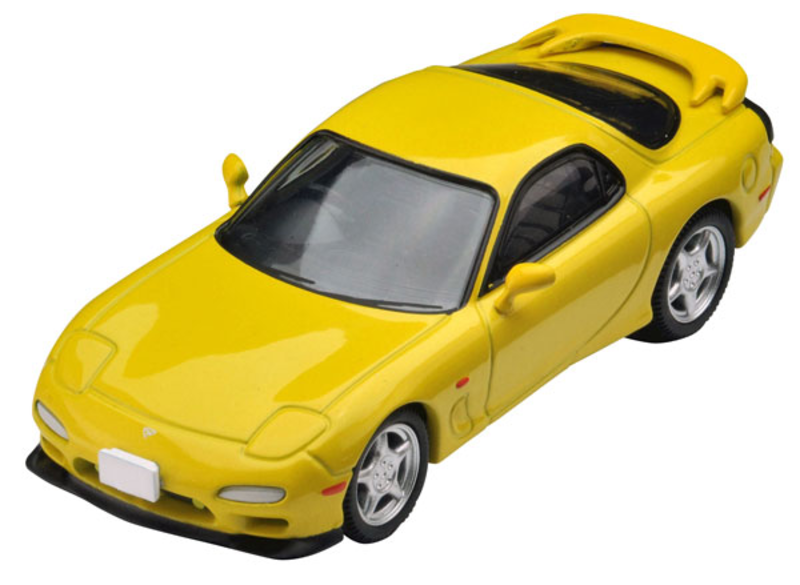 1/64 Tomica Limited Vintage NEO TLV-N174b Enfini RX-7 Type R (Yellow)