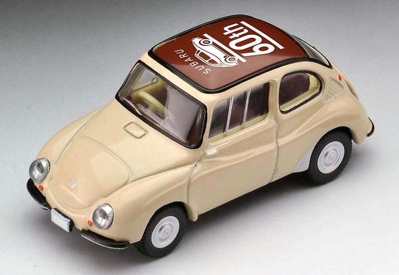 1/64 Tomica Limited Vintage LV-173a Subaru 360 SUBARU 60th Anniversary