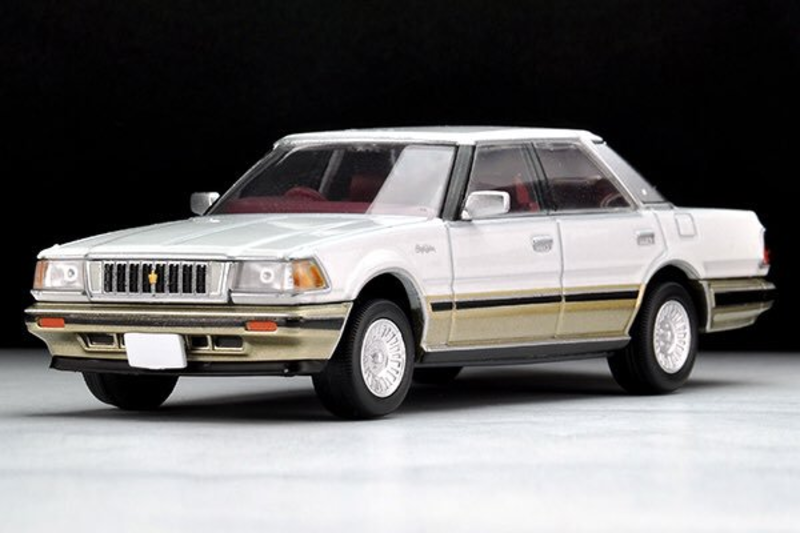 1/64 Tomica Limited Vintage NEO TLV-N176b Crown 2.8 Royal Saloon G (Pearl/Gold)
