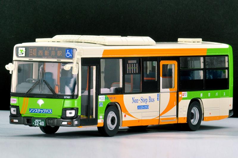 1/64 Tomica Limited Vintage NEO TLV-N139g Isuzu Erga (Tokyo Bureau of Transportation)