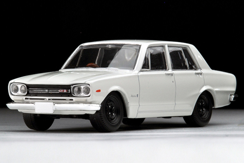 1/64 Tomica Limited Vintage TLV-176b Skyline 2000GT-R 1969 (White)