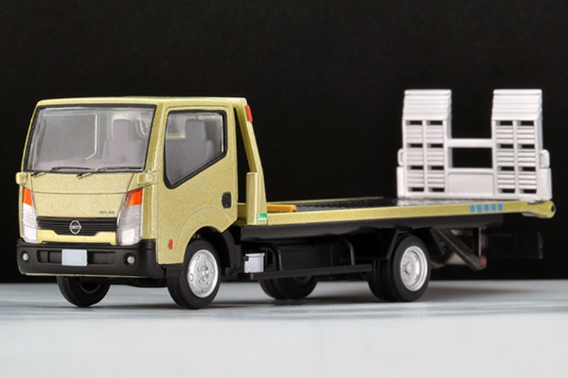 1/64 Tomica Limited Vintage NEO TLV-N144c Nissan Atlas Hanamidai Auto Safety Loader (Gold)