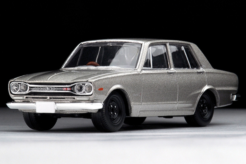1/64 Tomica Limited Vintage TLV-177a Skyline 2000GT-R Type of 1970s (Silver)