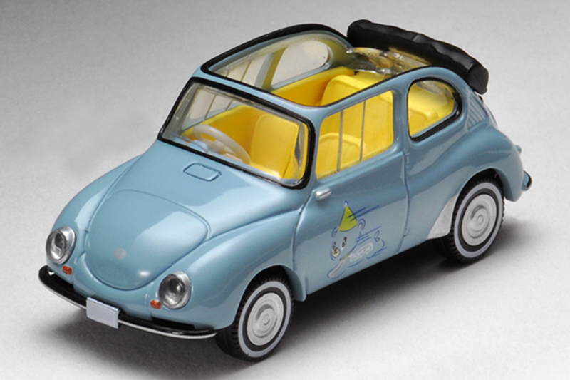 1/64 Tomica Limited Vintage Neo TLV x #SUBARU WEB COMMUNITY Subaru 360 Convertible