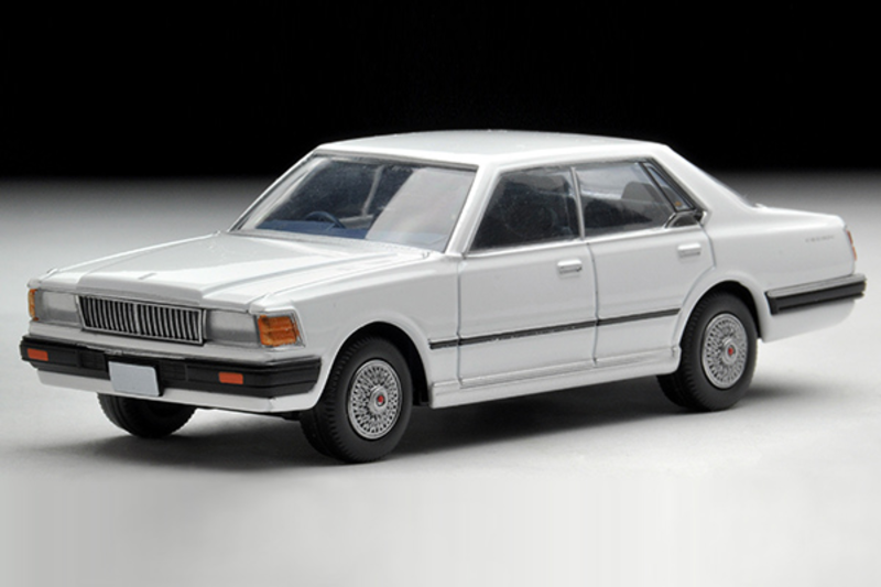 1/64 Tomica Limited Vintage NEO TLV-N56b Cedric 200 Turbo Brougham (White)