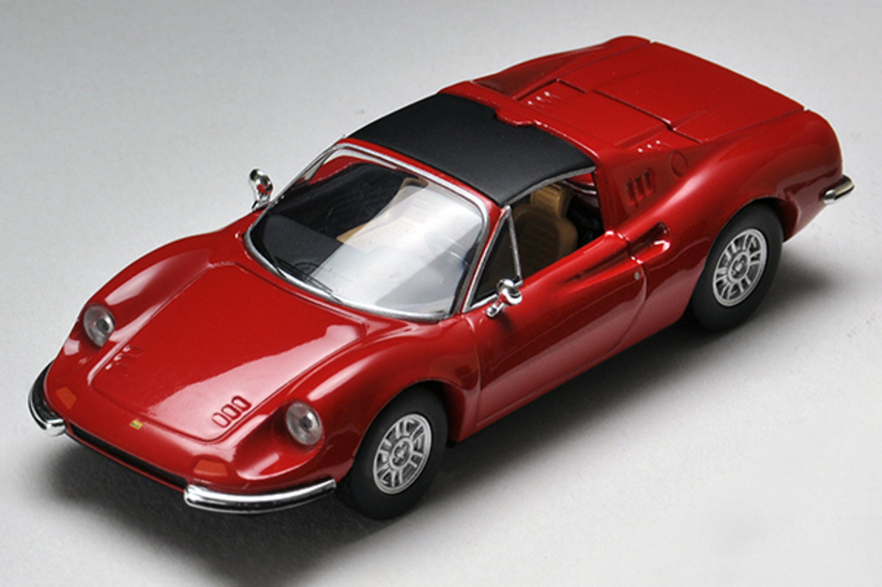 1/64 Tomica Limited Vintage TLV Dino 246GTS (Red)