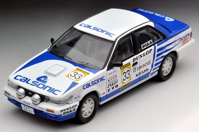 1/64 Tomica Limited Vintage NEO LV-N185b Bluebird SSS-R Japanese Rally Championship