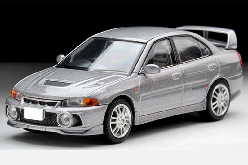 1/64 Tomica Limited Vintage NEO LV-N186a Lancer GSR Evolution IV (Silver)