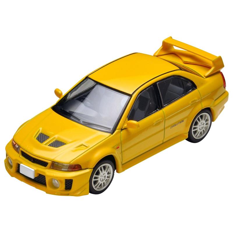 1/64 Tomica Limited Vintage NEO LV-N187a Lancer GSR Evolution V (Yellow)