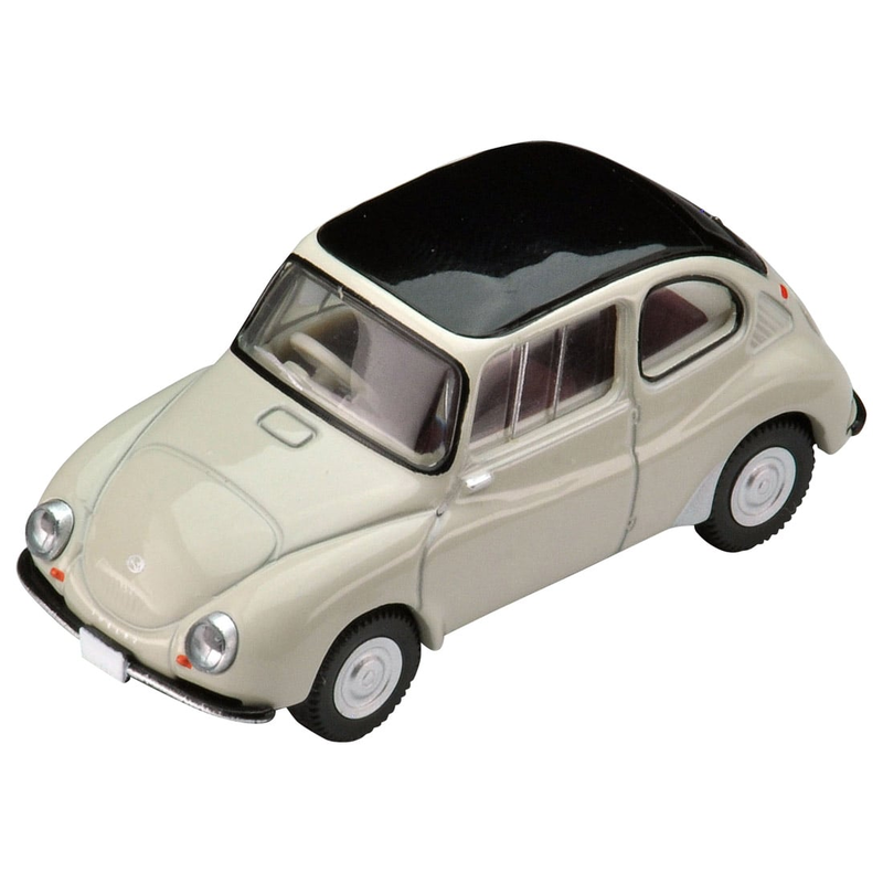 1/64 Tomica Limited Vintage LV-182a Subaru 360 Convertible 60-year Model (Hood Closed)