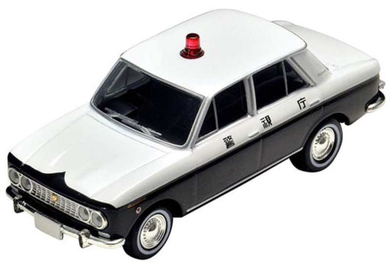 1/64 Tomica Limited Vintage LV-183a Blue Bird Patrol Car
