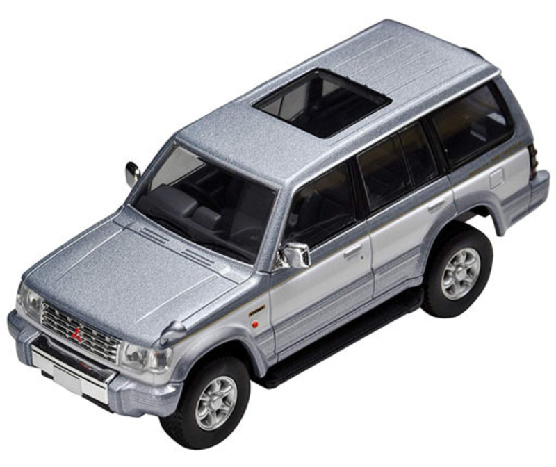 1/64 Tomica Limited Vintage NEO LV-N189a Pajero Super Exceed Z (Silver/White)