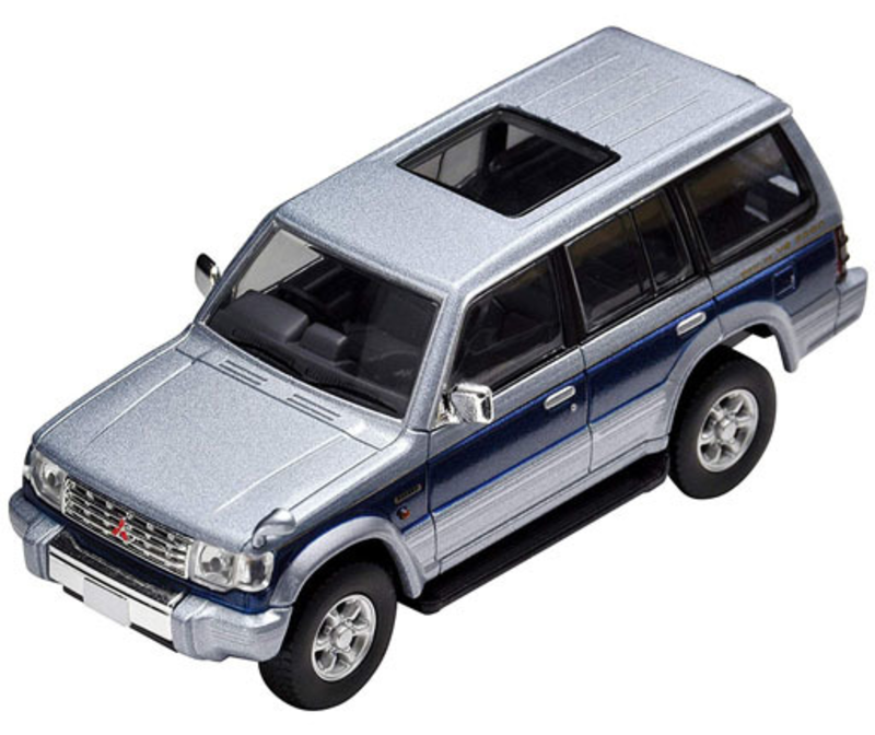 1/64 Tomica Limited Vintage NEO LV-N189b Pajero Super Exceed Z (Silver/Blue)