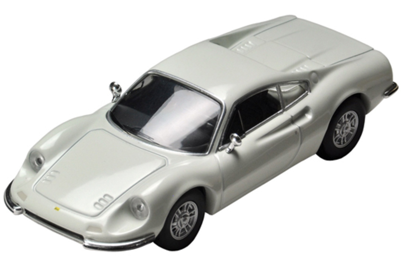 1/64 Tomica Limited Vintage TLV Dino 246gt (White)