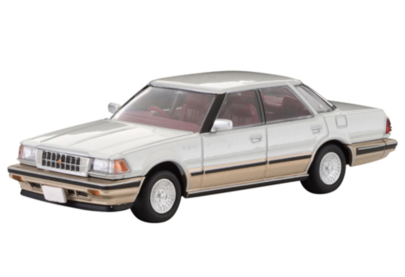 1/64 Tomica Limited Vintage NEO LV-N199a Toyota Crown 3.0 Royal Saloon G (Pearl)