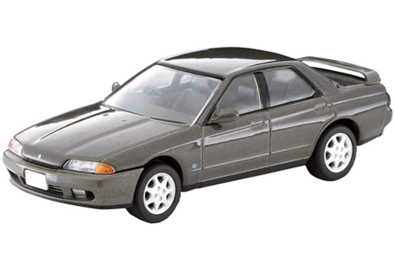 1/64 Tomica Limited Vintage NEO LV-N194a Nissan Skyline GTS25 Type X,G (Gray)