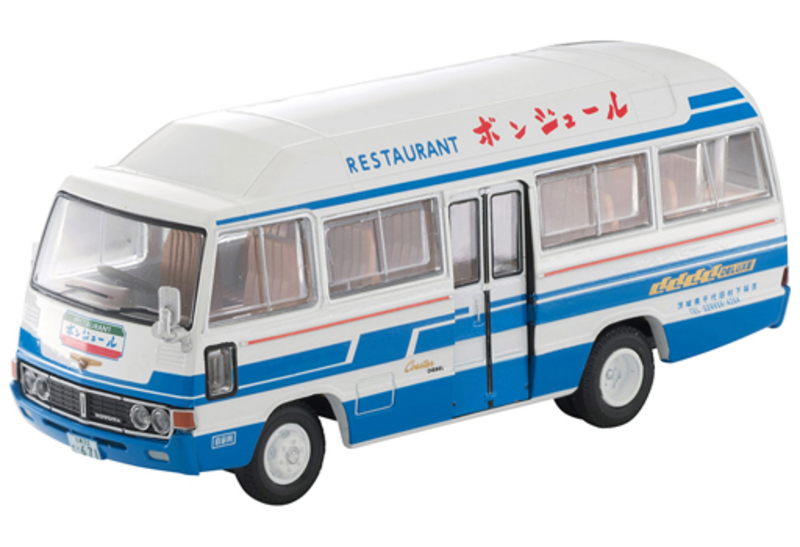 1/64 Tomica Limited Vintage LV-184a Toyota Coaster Air-conditioned Car (Restaurant Bonjour)