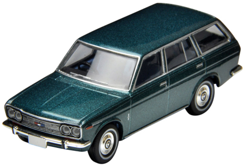 1/64 Tomica Limited Vintage LV-81c Datsun Bluebird Station Wagon (Blue)