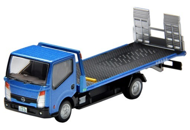 1/64 Tomica Limited Vintage Neo LV-N144d Nissan Atlas F24 Hanamidai Motors Safety Loader (Blue)