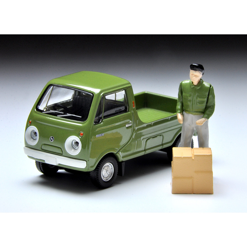 1/64 Tomica Limited Vintage LV-185a Mazda Porter Cab 1-side Open Rear Platform (Green)