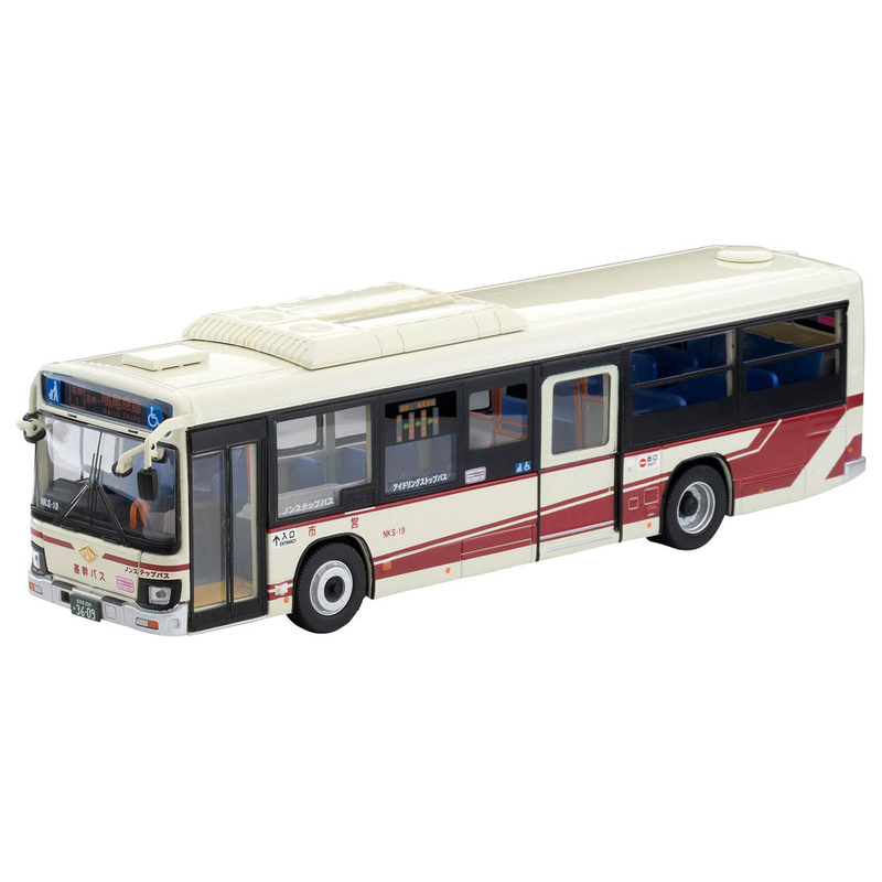1/64 Tomica Limited Vintage NEO LV-N139i Isuzu Erga Transportation Bureau City of Nagoya (Main Bus)