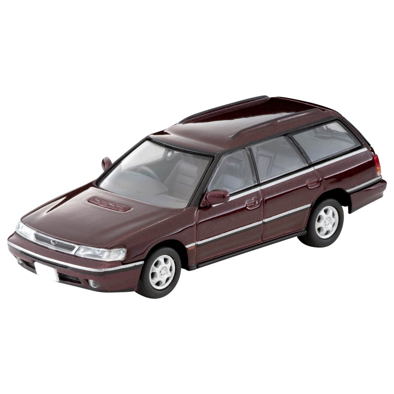 1/64 Tomica Limited Vintage NEO LV-N201a Legacy Touring Wagon (Dark Red)