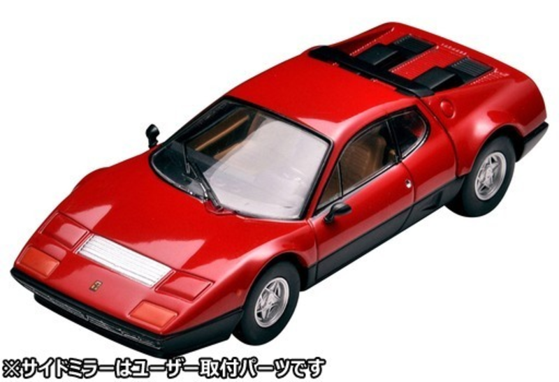 1/64 Tomica Limited Vintage NEO Ferrari 512 BB (Red/Black)