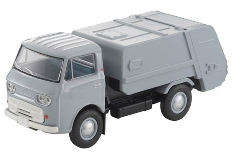 1/64 Tomica Limited Vintage LV-186b Mazda E2000 Garbage Truck (Gray)