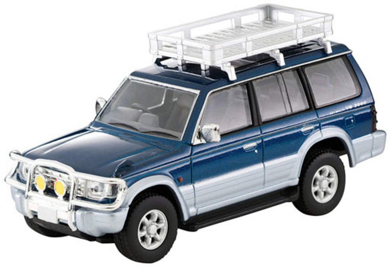 1/64 Tomica Limited Vintage NEO LV-N206a Mitsubishi Pajero VR w/Options (Blue/Silver)