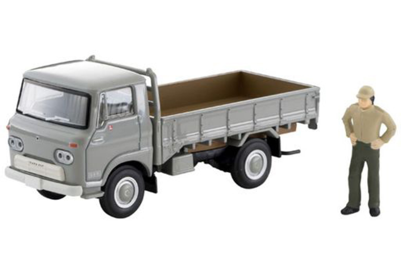 1/64 Tomica Limited Vintage LV-191a Isuzu Elf High Floor Load Platform (Gray)