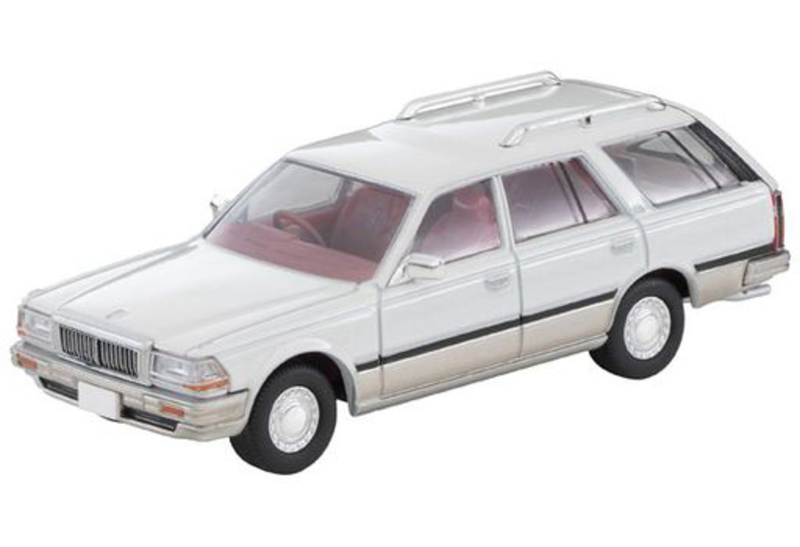 1/64 Tomica Limited Vintage NEO LV-N209a Cedric Wagon SGL Limited (White/Silver)