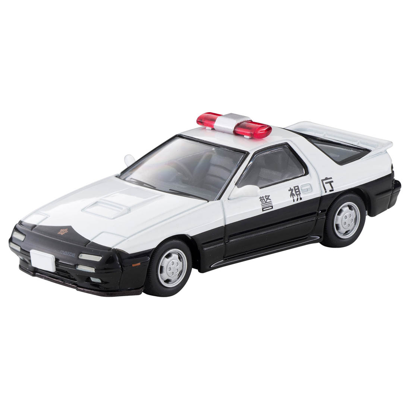 1/64 Tomica Limited Vintage NEO LV-N214a Mazda Savanna RX-7 Patrol Car (Police Department)