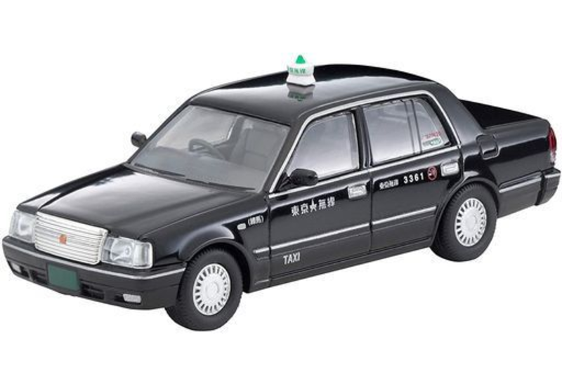 1/64 Tomica Limited Vintage NEO LV-N219a Toyota Crown Sedan Tokyo Musen Taxi (Black)