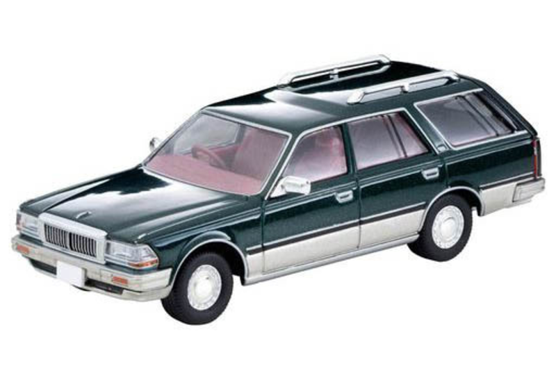 1/64 Tomica Limited Vintage NEO LV-N209b Cedric Wagon SGL Limited (Green/Silver)
