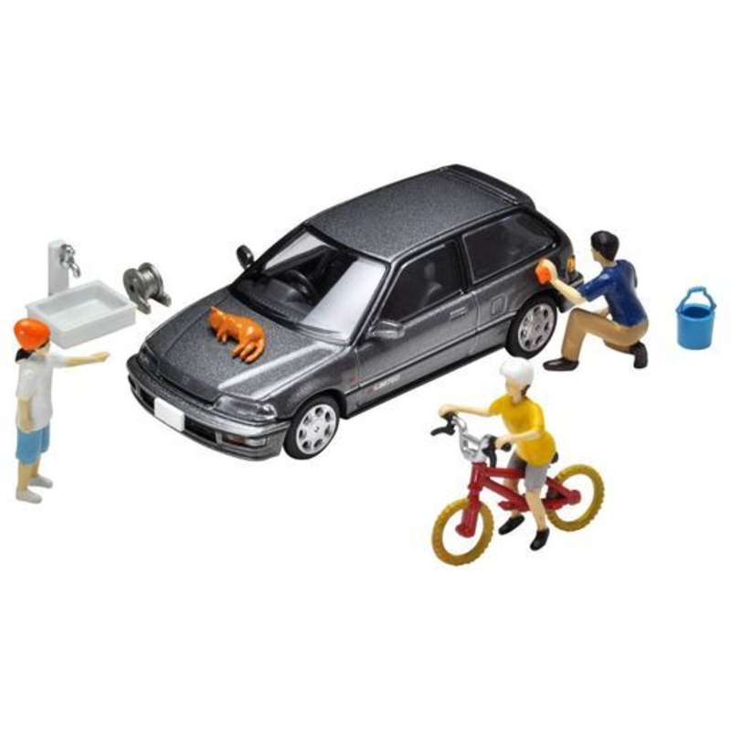 1/64 Tomica Limited Vintage NEO Diorama Collection DioColle 64 #Car Snap 02b Car Washing