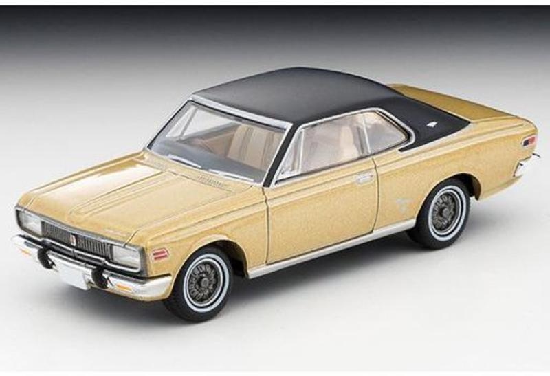 1/64 Tomica Limited Vintage LV-192b Toyopet Crown Hard Top Super Deluxe 70s Model (Gold/Black)