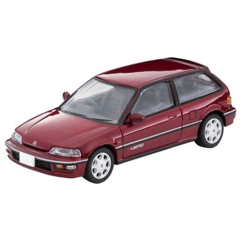 1/64 Tomica Limited Vintage NEO LV-N207b Honda Civic 25X,S- Limited (Metallic Red)